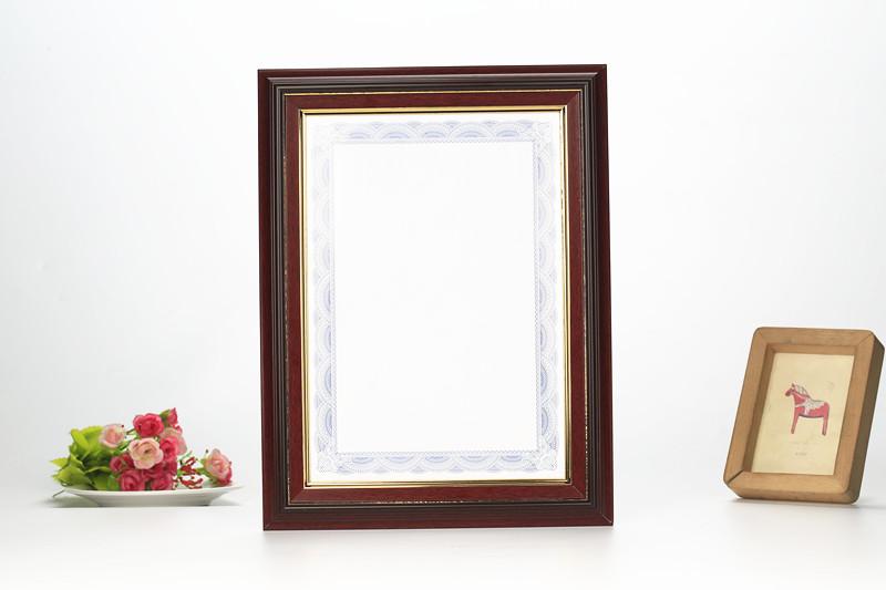 木紋鏡框證書